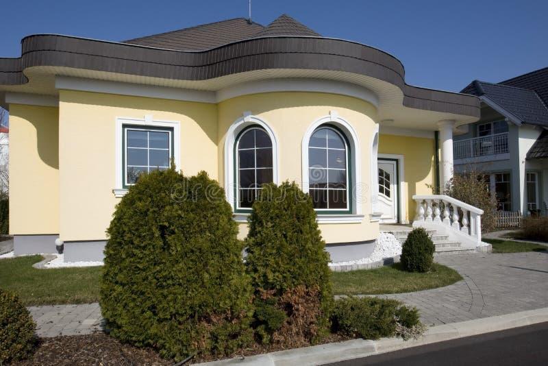 Modieus huis royalty-vrije stock afbeelding