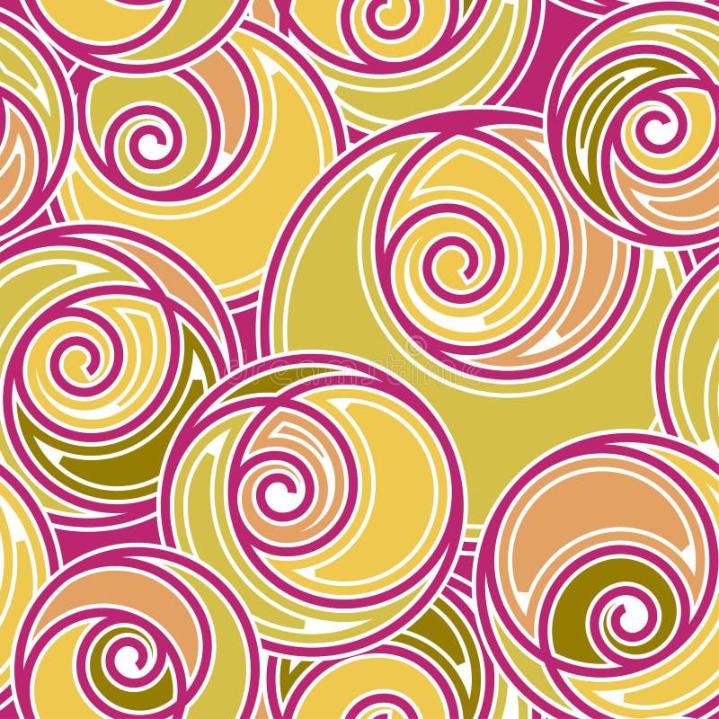 Modieus naadloos patroon stock illustratie