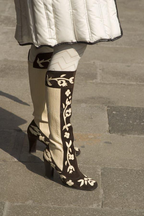 Modieuze Laarzen stock fotografie