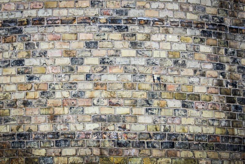 Modieuze mooie bakstenen muurachtergrond in aard stock foto's