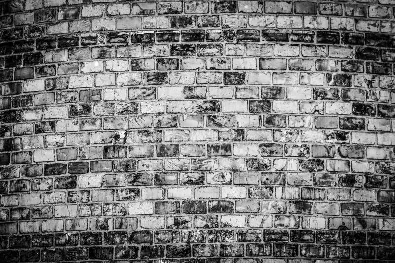 Modieuze mooie bakstenen muurachtergrond in aard stock afbeeldingen
