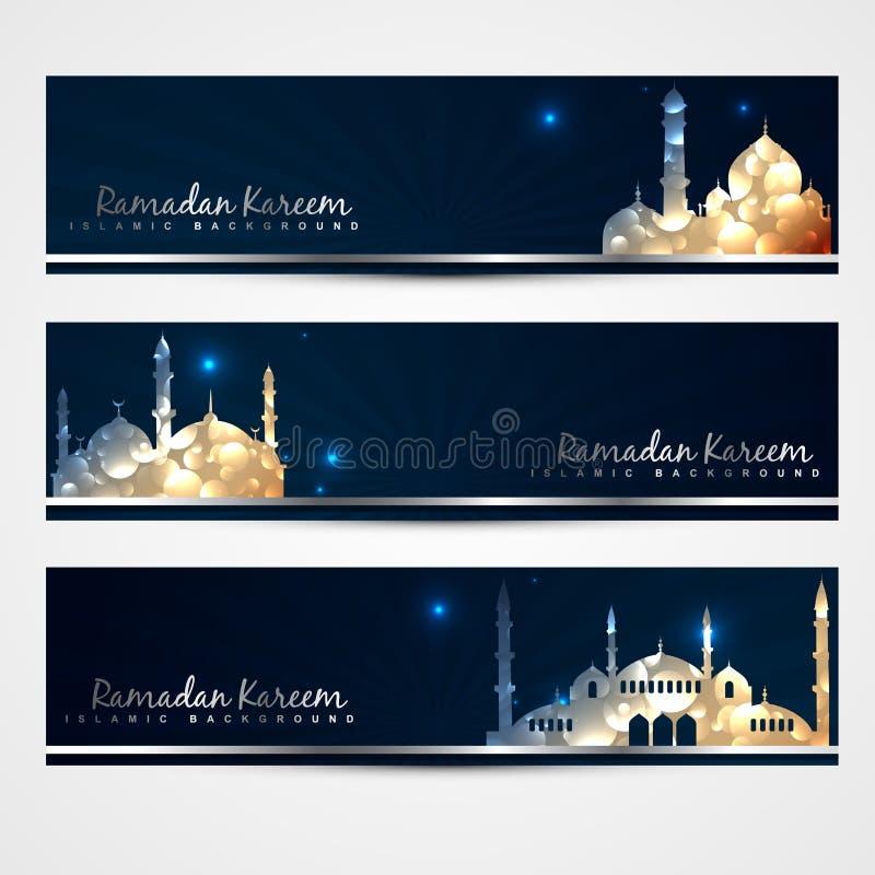 Modieuze reeks ramadan banners