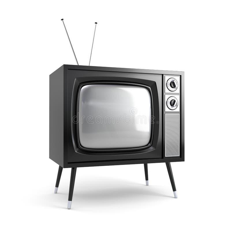 Modieuze retro TV vector illustratie