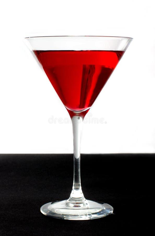 Modieuze rode cocktail royalty-vrije stock fotografie