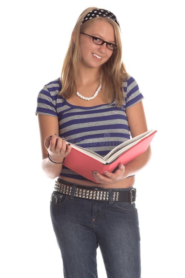 Modieuze Student royalty-vrije stock foto