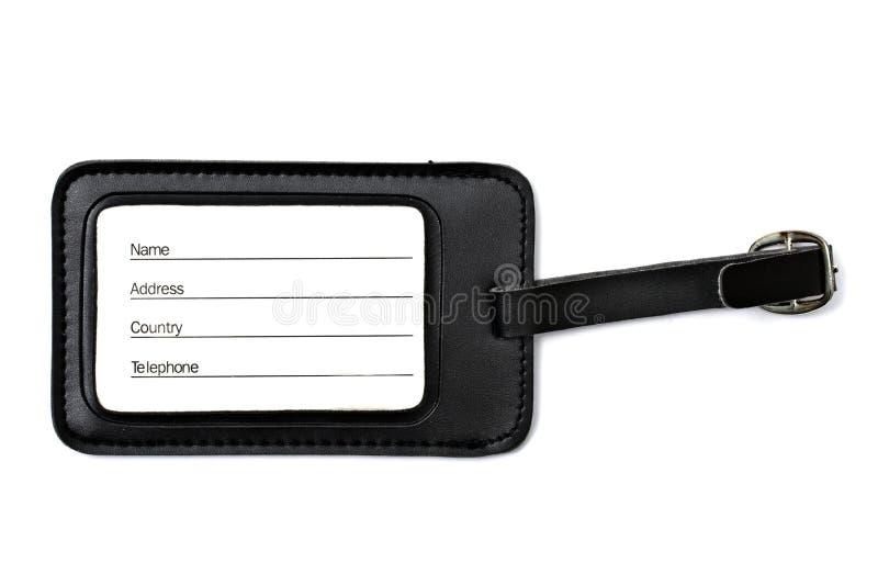 Modifica dei bagagli isolata su bianco fotografia stock libera da diritti