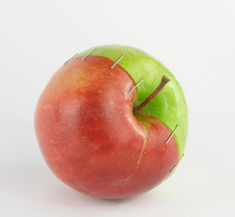 Download Modification Of An Apple Royalty Free Stock Image - Image: 18653976