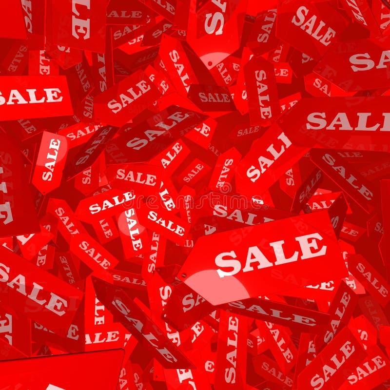 Modifiche di caduta di vendita illustrazione vettoriale