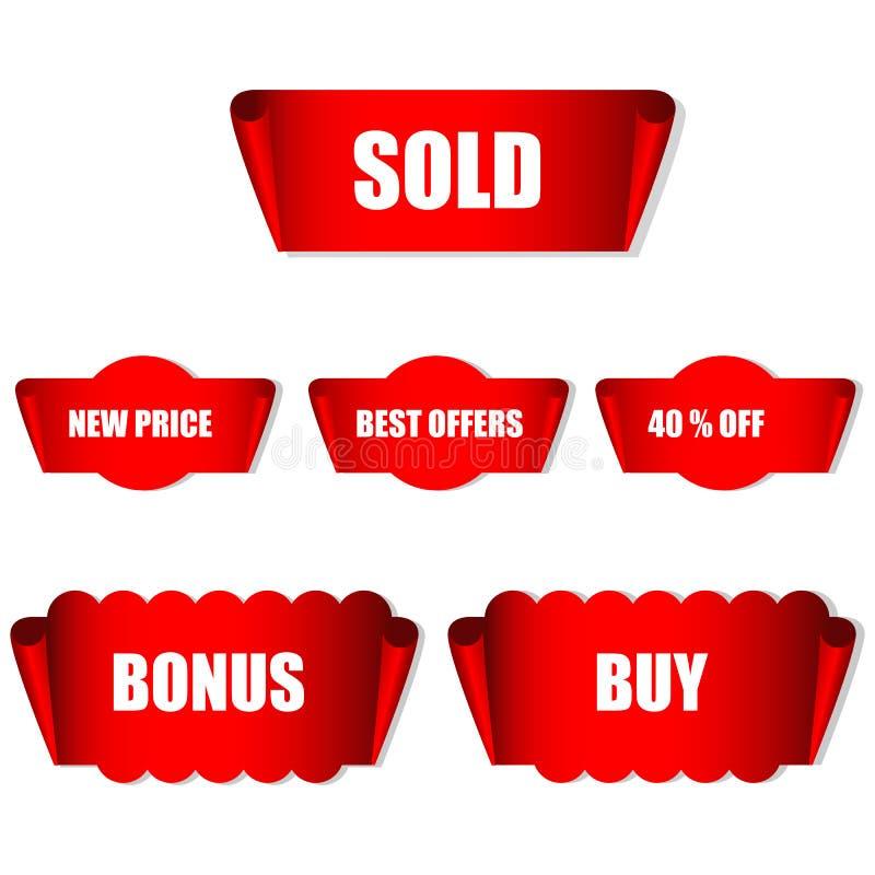 Modifiche di vendita illustrazione vettoriale