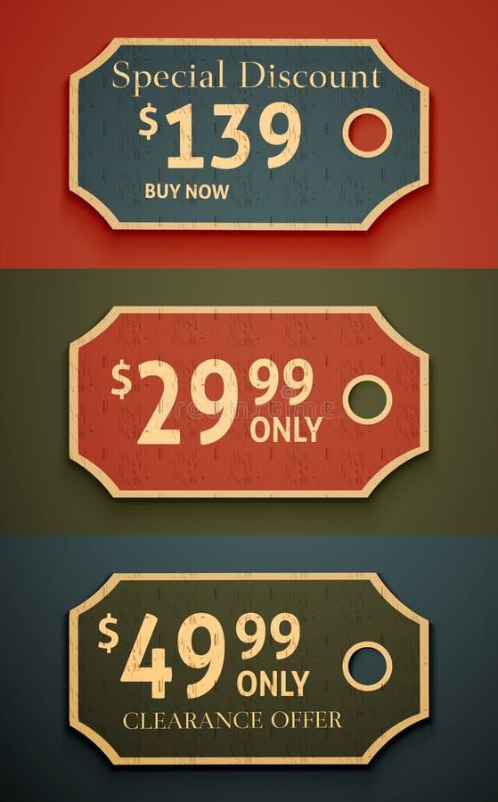 Modifiche di vendita illustrazione di stock