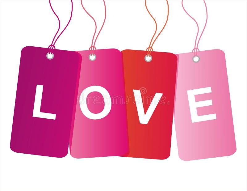 Modifiche di vendita di giorno del biglietto di S. Valentino della st illustrazione vettoriale