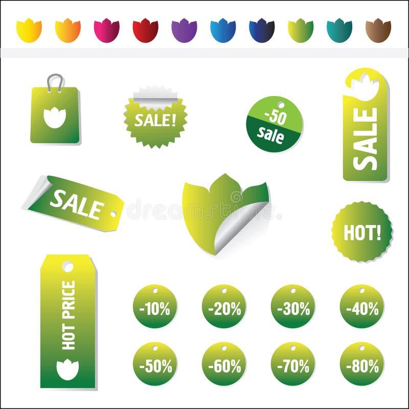 Modifiche di vendite royalty illustrazione gratis