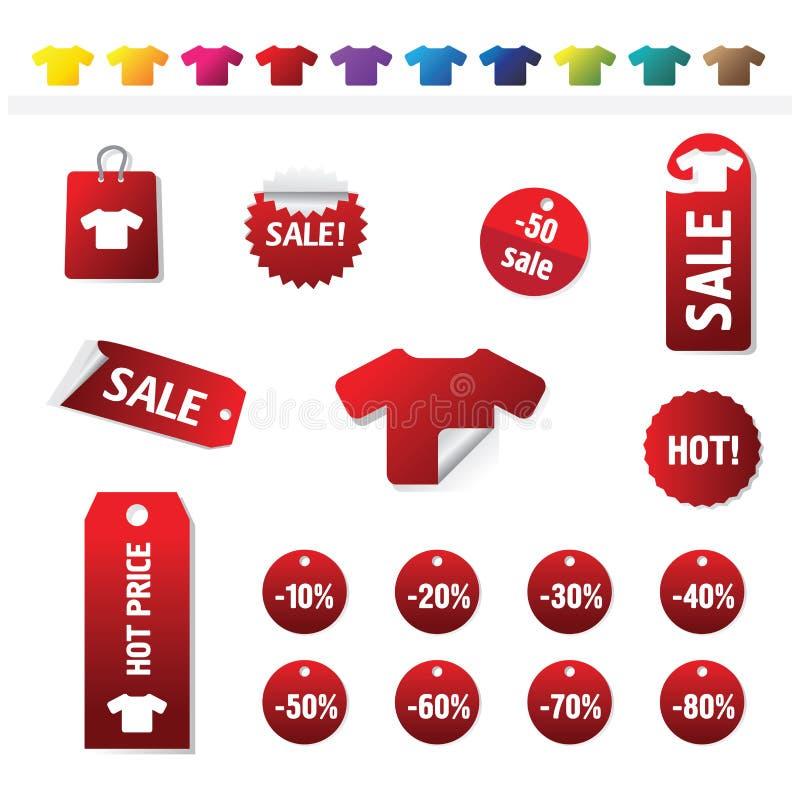 Modifiche di vendite illustrazione vettoriale