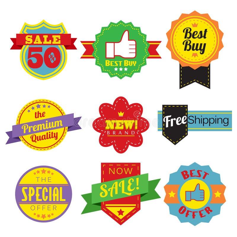 Modifiche di vendite illustrazione di stock