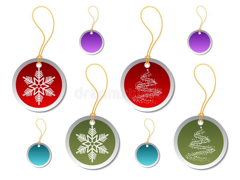 Download Modifiche Rotonde Del Regalo Di Natale Illustrazione Vettoriale - Illustrazione di stella, vettore: 3885114