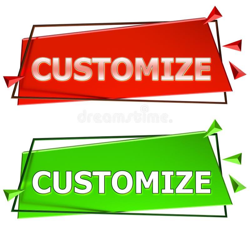 Modifique la muestra para requisitos particulares libre illustration
