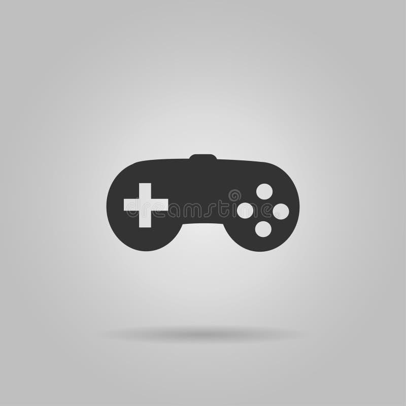 Modig kontrollantsymbol som isoleras på bakgrund Modern plan pictogram, affär, marknadsföring, internetbegrepp Sy moderiktig enke vektor illustrationer
