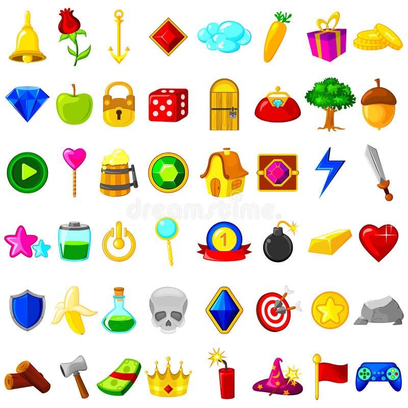 Modig resurs för användargränssnitt stock illustrationer