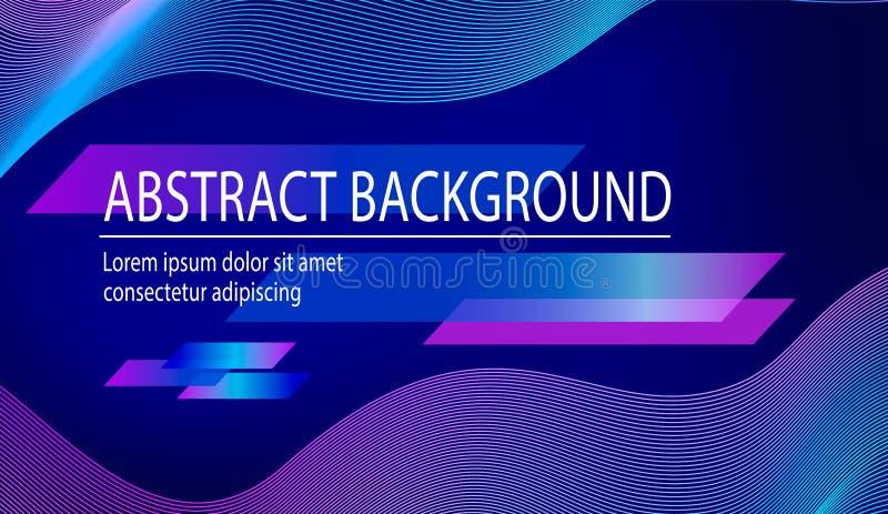Modischer abstrakter Hintergrund des Vektors lizenzfreie abbildung