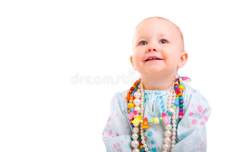 Modisches Baby lizenzfreie stockfotos