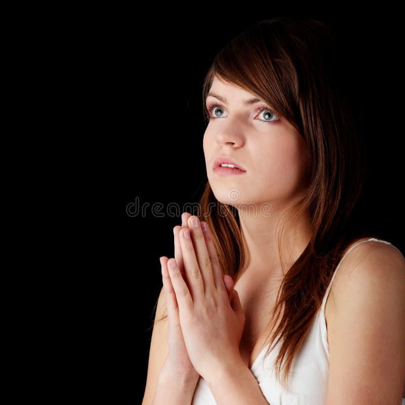 modlenie zdjęcie royalty free