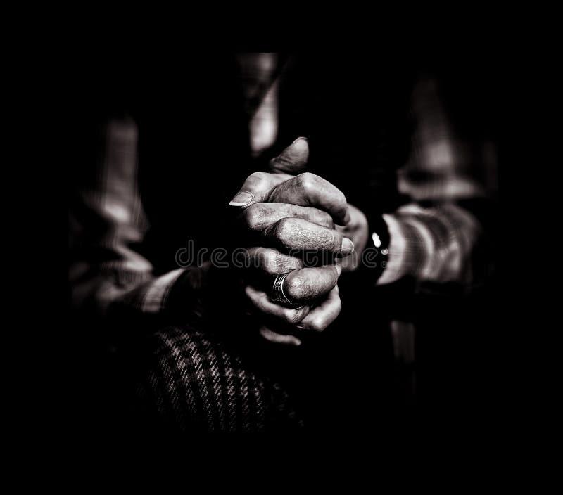 modlitewny stroskanie obrazy stock