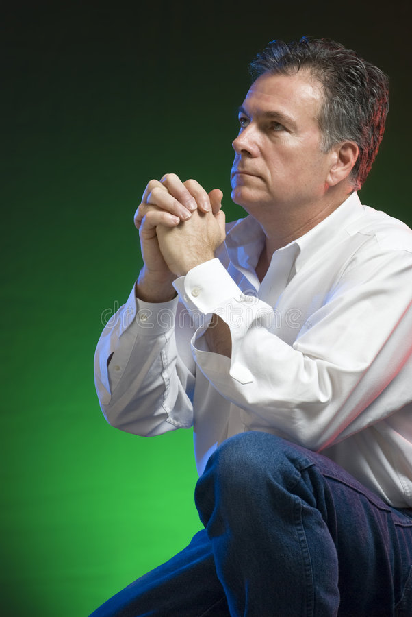 modlitwa obraz stock