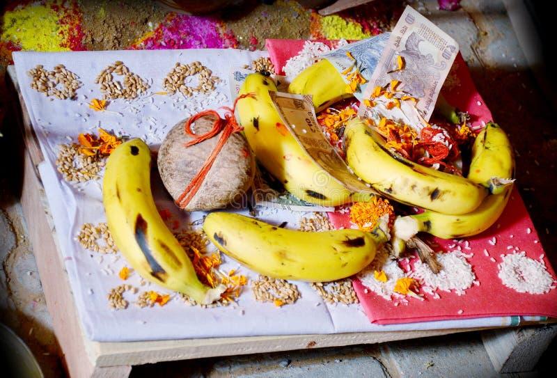 Modlitwy i cześć rzeczy dla nicianej ceremonii, zdjęcia stock