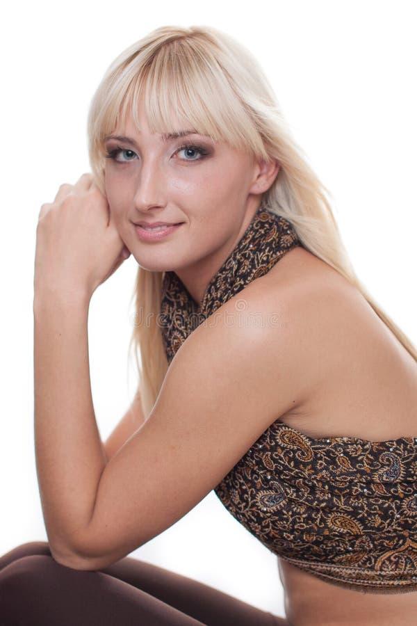 Modna młoda kobieta zdjęcie royalty free