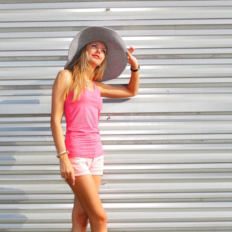 Modna modniś dziewczyna obraz stock