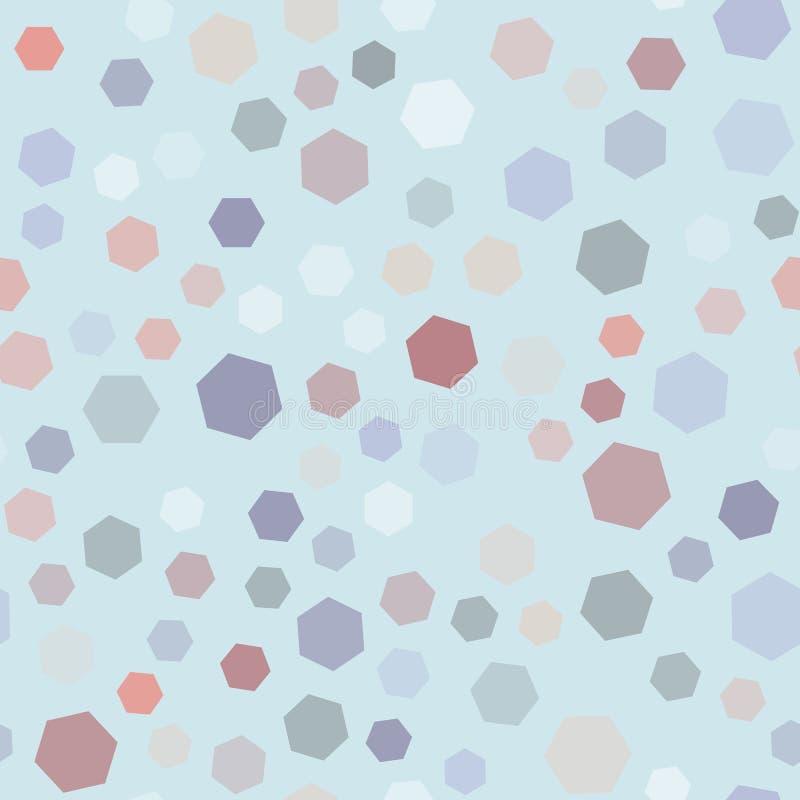 Modnego koloru rhombus bezszwowy wektorowy tło ilustracji