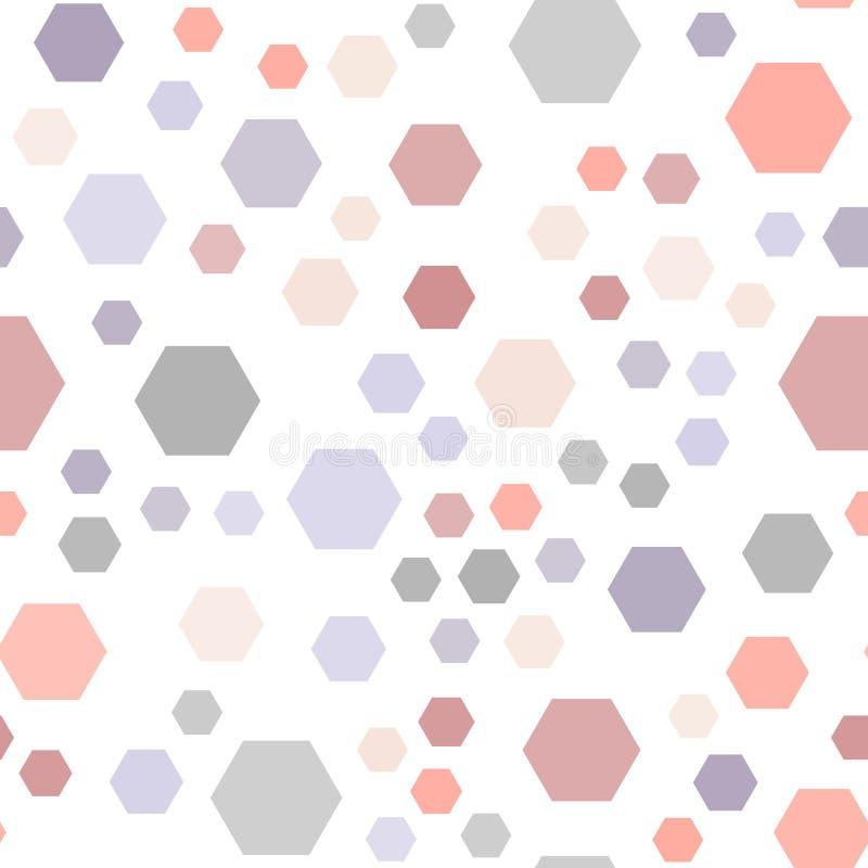 Modnego koloru rhombus bezszwowy wektorowy tło ilustracja wektor