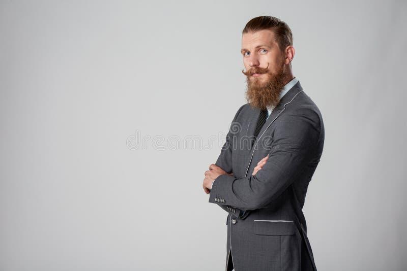 Modnisia biznesowy mężczyzna zdjęcie stock
