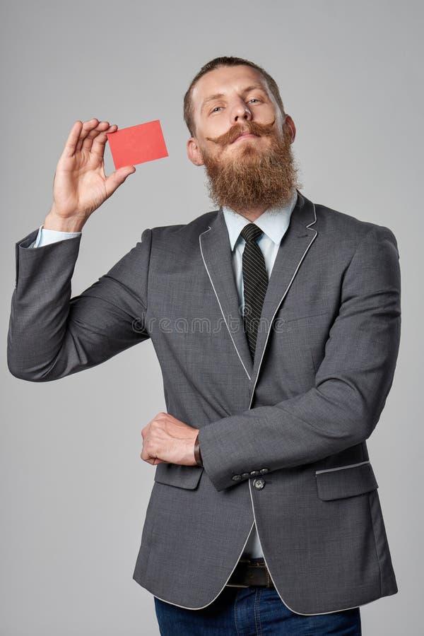Modnisia biznesowy mężczyzna zdjęcia royalty free
