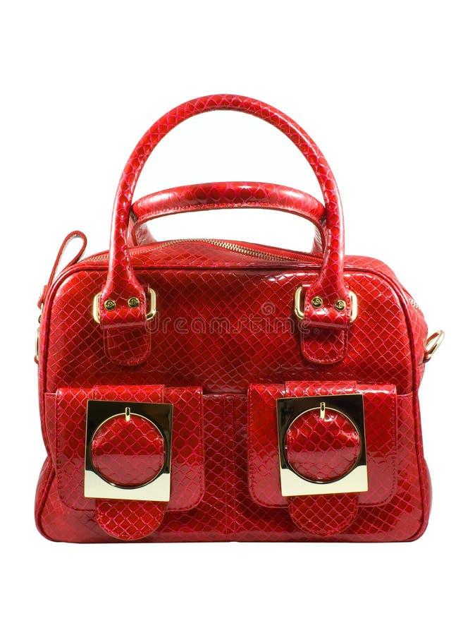 modny torebki czerwony obrazy royalty free