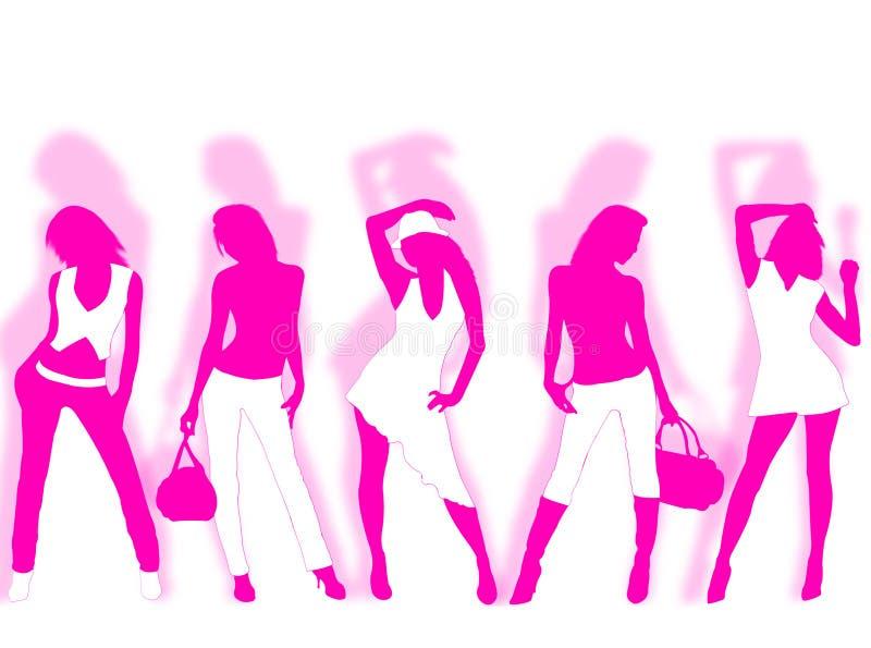 Download Modo illustrazione di stock. Illustrazione di pose, bellezza - 7310742