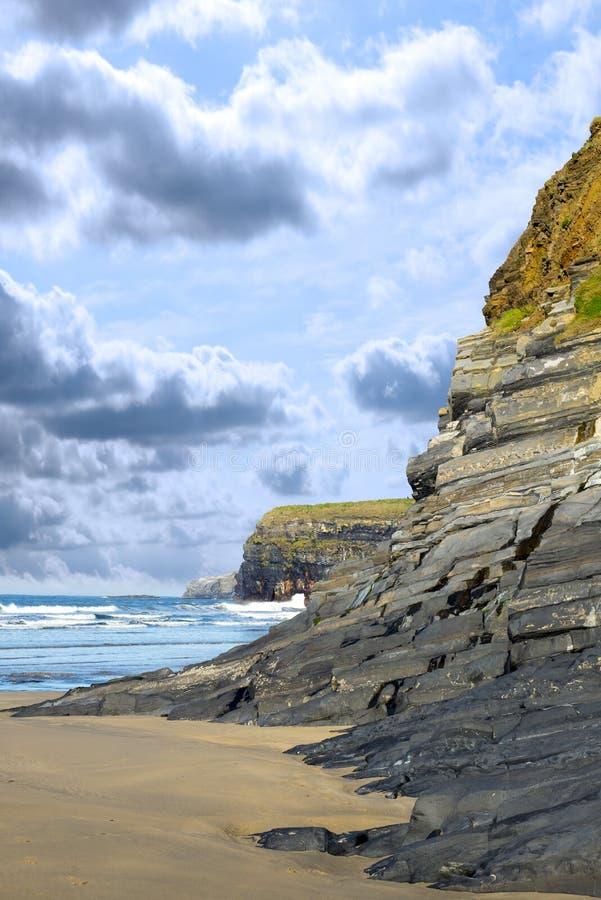 Modo atlantico selvaggio Irlanda fotografie stock libere da diritti