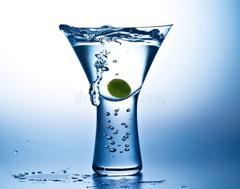 Modo azul Martini fotos de stock