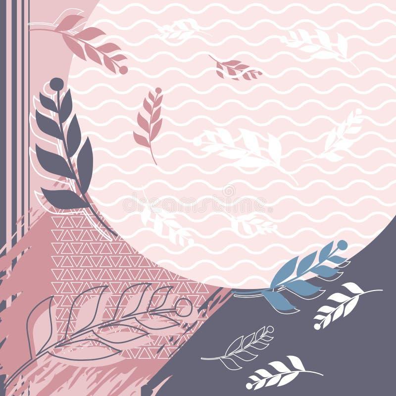 Modo creativo della sciarpa per stampare immagine stock libera da diritti