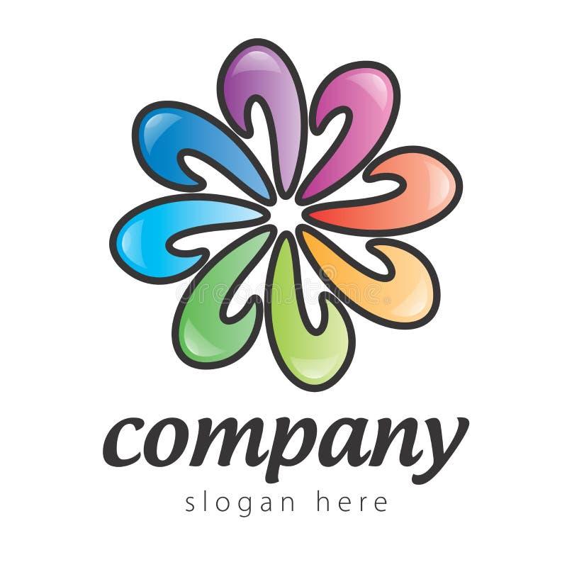 Modo do logotipo ilustração royalty free