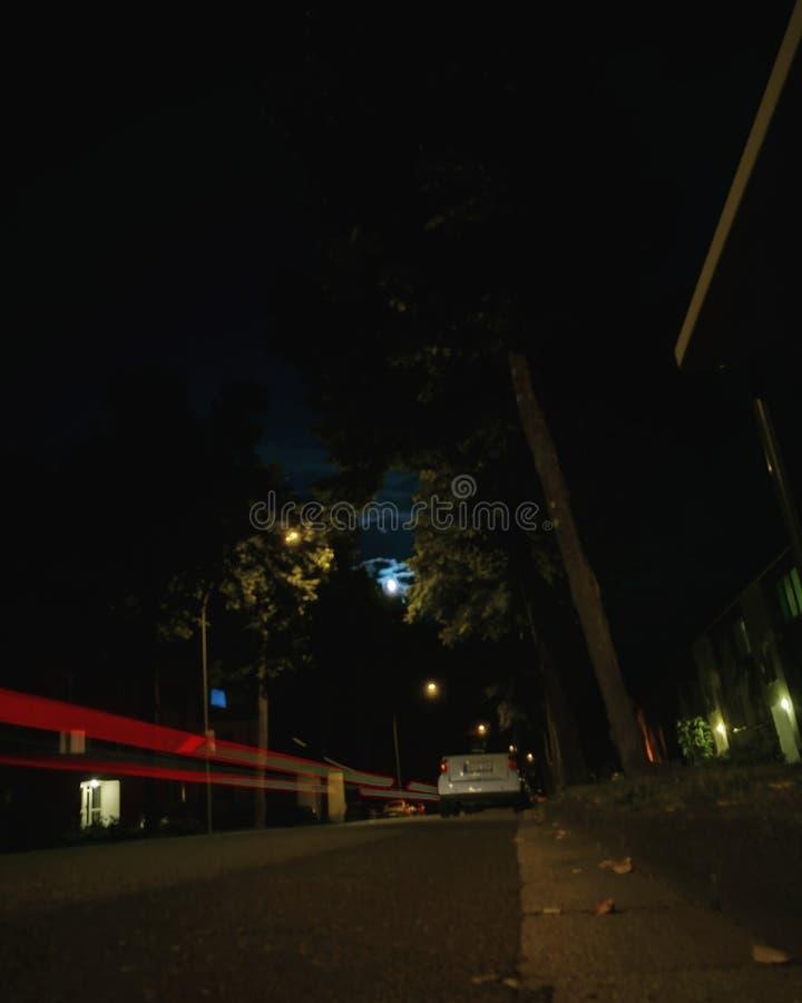 Modo de noche imagen de archivo libre de regalías