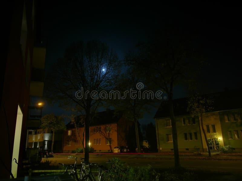 Modo de noche foto de archivo