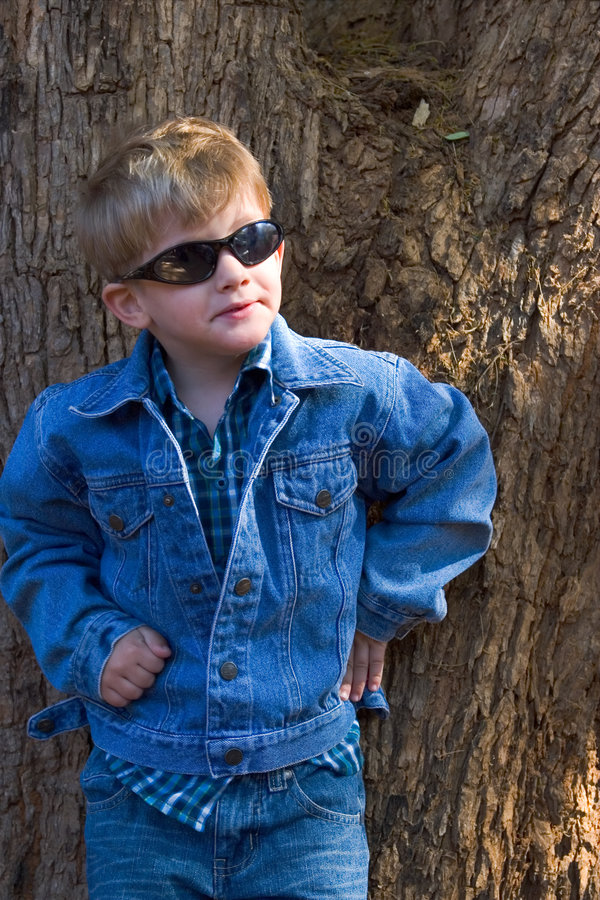 Modo del bambino immagine stock