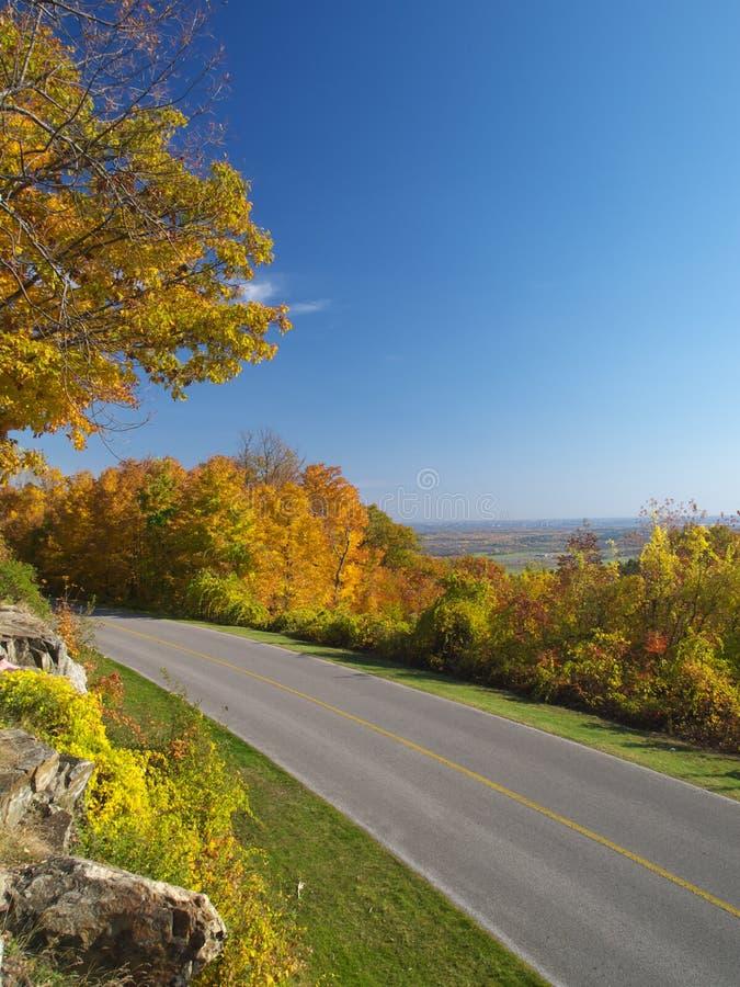 Modo dell'azionamento di autunno immagini stock