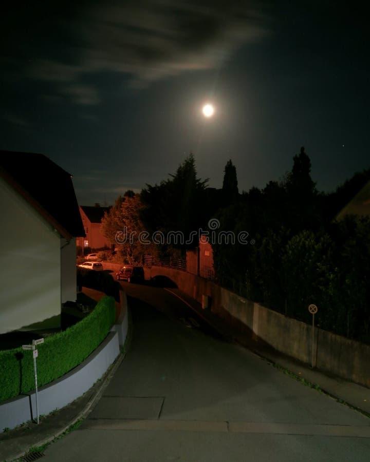 Modo di notte immagine stock