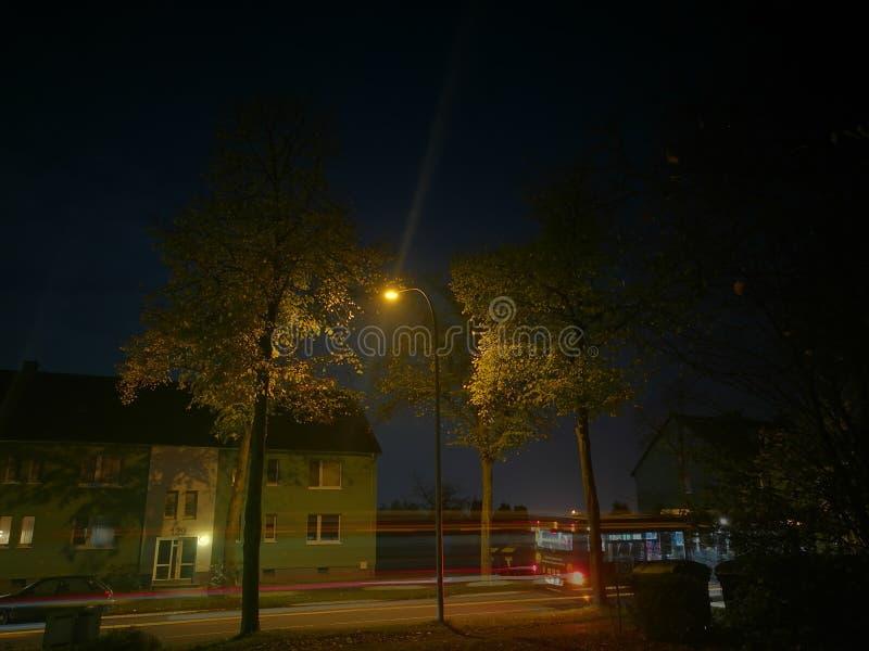 Modo di notte fotografie stock