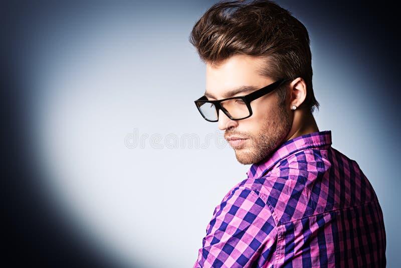 Modo di occhiali immagini stock libere da diritti