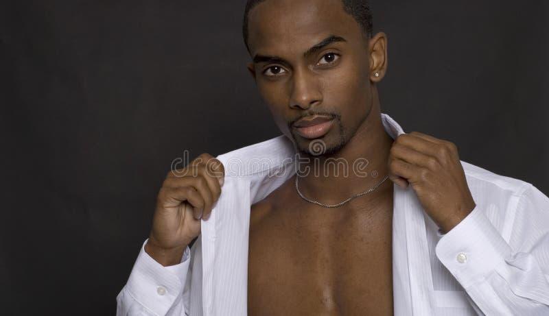 Modo maschio fotografie stock