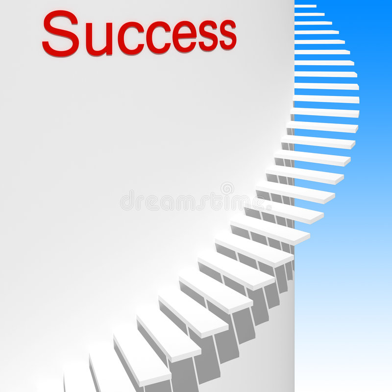 Modo a successo 01 illustrazione vettoriale