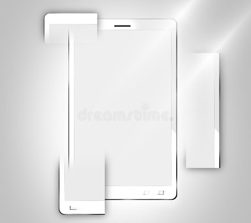 Modulaire smartphones stock illustratie